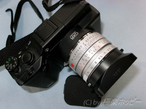 ズミクロン35mm,F2.0 ASPH+リコーGXRマウントA12
