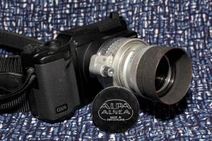KERN Switer 50mmF1.8+リコーGXRマウントA12@KIPON ALPA-L39アダプター+LMリング