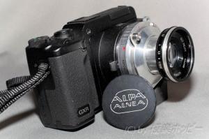 Old Delft Alfinon 50mmF2.8+リコーGXRマウントA12@KIPON ALPA-L39アダプター+LMリング