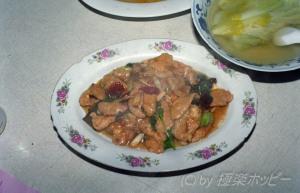 開水白菜@成都小城餐庁