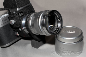 HEKTOR 125mmF2.5+VISOFLEX Ⅲ+M9