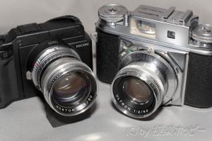 Prominent NOKTON 50mmF1.5+GXR A12@KIPON VOIGTLANDER-L39 Adapter Ring