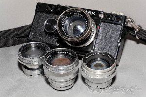 ブラックゾナー50mmF2.0+CONTAXⅠ型タイプ2@ダークレス現像