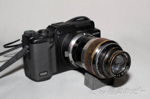 Fat Elmar 90mmF4.0+リコーGXRマウントA12