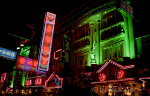 乍浦路のにぎわい@上海三大美食街