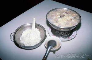 酸菜白肉火鍋その2@台北食べ歩き
