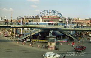 歩道橋@レトロ上海