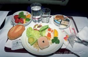 機内食@イベリア航空