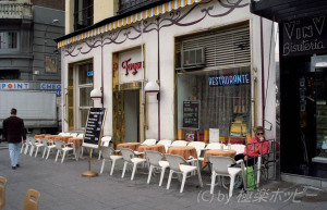 オープンテラスのレストラン@マドリッド観光