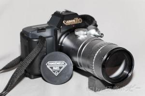 P.Angenieux Type P21 180mmF4.5+キャノンT80@エキザクタ復興計画
