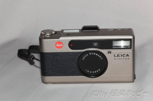 LEICA minillux@高級コンパクトカメラ