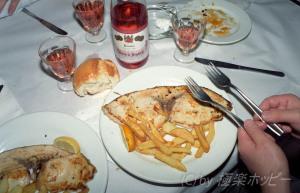 エンペラドールのソテー@昼のディナー