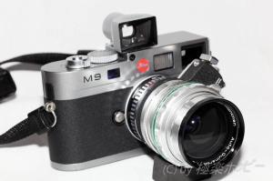 Steinheil Munchen Auto-Quinaron 35mmF2.8+ライカM9