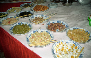ホテルの朝食@長沙芙蓉賓館