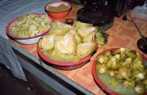 潮州鹹菜(Chiu Chou preserved mustard) @汕頭朝市