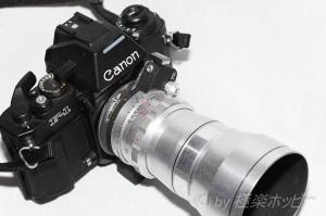 Steinheil Munchen Auto-Tele-Quinar 135mmF3.5+Canon new-F1@エキザクタ復興計画