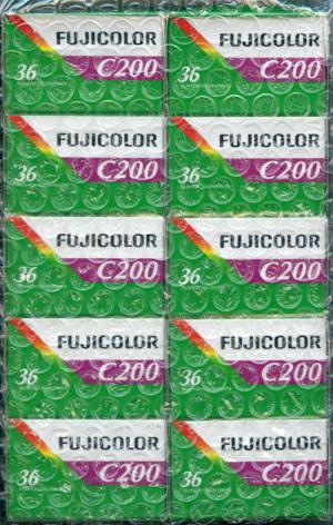FUJICOLOR C200@テスト用フィルム