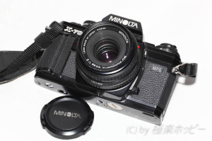MD ROKKOR-X 45mmF2.0@ミノルタ製パンケーキ