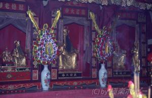 市場の廟@汕頭海平市場