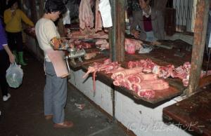肉屋さん@汕頭海平市場