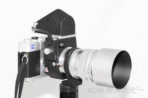 Hektor 125mmF2.5+Zeiss Ikon SW@ビゾフレックスカメラ