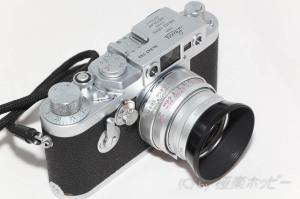 HEXANON 50mmF2.4+Leica ⅢG@Pro Image100