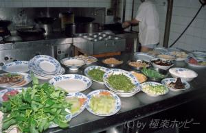 厨房風景@重慶飯店
