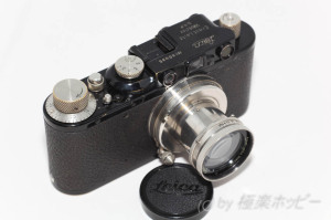 Leica II Mod. D black+Summar Nickel 2/5cm@80年前のカメラ