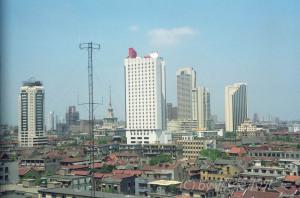 ホテルからの眺め@錦江飯店北楼