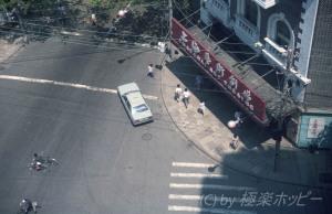 上海芸術劇場@錦江飯店北楼からの眺め