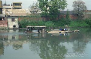古運河沿いにぶらぶらと@揚州観光