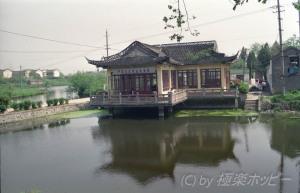大明寺へ向かってぶらぶらと@揚州観光