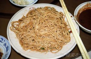 干拌麺@揚州三福源酒楼