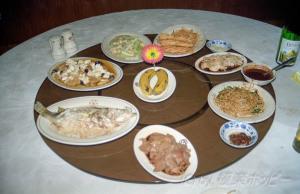 最後の晩餐@揚州三福源酒楼
