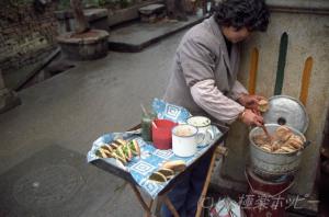 中華風バーガー@福州食べ歩き