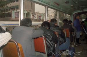 福州駅のほうへ@トロリーバスに乗ってみた