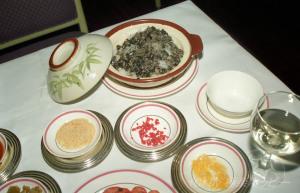 ブラックオリーブの炊き込みご飯@富貴梅龍鎮酒家