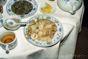 咸菜土歩魚@寧波華僑飯店