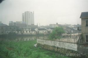 車窓からの風景@寧波から紹興へ