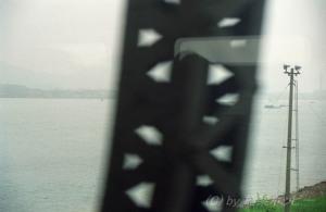 車窓からの眺め@紹興から杭州へ