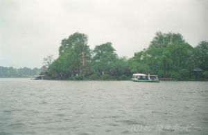 西湖の渡し船@杭州観光