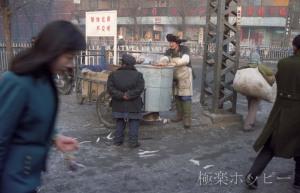 また焼き芋屋さん@瀋陽ぶらぶら