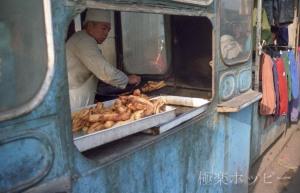 三枚肉のブロック@瀋陽北市場