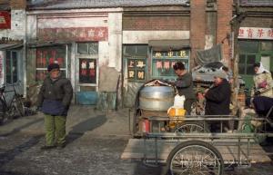市場のおばさん@瀋陽北市場