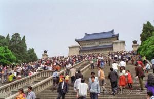 現代のピラミッド@南京中山陵