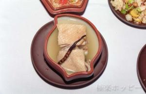 牛のペニス料理@南京双門楼賓館