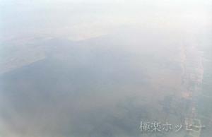 南京から離陸@南京から上海へ