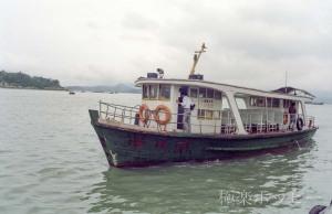 乗船@コロンス島遊覧