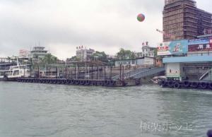 港の光景@コロンス島遊覧