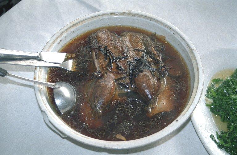 アヒルの丸煮